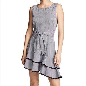 BB DAKOTA Holly Golightly Gingham Print Dress